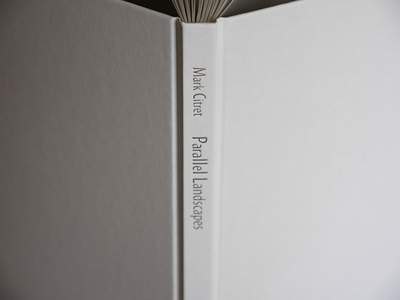 book Parallel Landscapes, Mark Citret, spine title