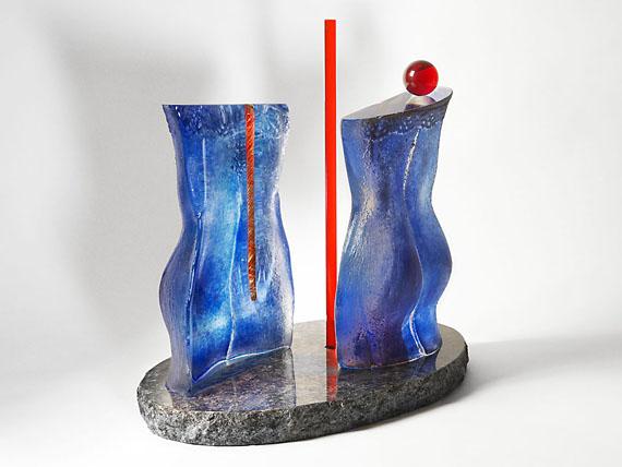 Bodil Magnusson, glasskulptur